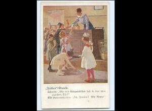 """XX15005/ B. Wennerberg AK """"Zeichen""""-Stunde Kriegsanleihen 1. Weltkrieg"""