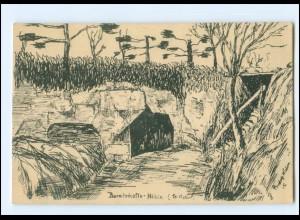 XX15009/ Breitschafts-Höhle 1915 1. Weltkrieg AK