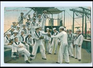 XX15053/ Boxing in the U.S. Navy Marien USA AK 1912