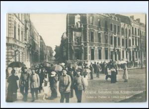 XX15013/ Lüttich nach der Einnahme Kriegsschauplatz Foto AK ca.1915