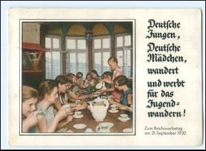 XX15052/ Jugendherbergen Jugendwandern Reichswerbetag 1930 AK Kathreiner Reklame