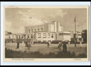 V1883/ Warnemünde Kurhaus AK 1929