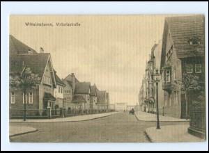 V1908/ Wilhelmshaven Victoriastraße AK 1916