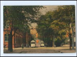 V1910/ Wilhelmshaven Königstraße Straßenbahn AK 1914