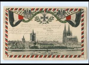 S2978/ Köln 1. Weltkrieg Patriotik AK 1915
