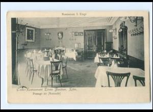 S2975/ Köln Cafe-Restaurant Louis Fischer AK 1907