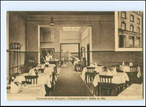 S2974/ Köln Christliches Hospiz Viktoria Hof AK ca.1915
