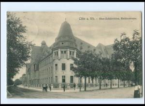 S2970/ Köln Riehlerstraße Ober-Zolldirektion AK 1914