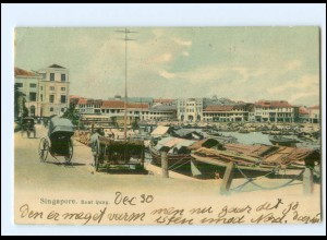 S2945/ Singapore Boat Quay AK 1905