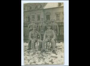 S2993/ K.U.K. Infanterieregiment Neubau Nied. Österreich Foto AK Soldaten 1914