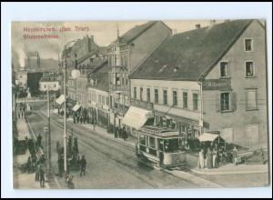 S2960/ Neunkirchen Bez. Trier Stummstraße Straßenbahn AK 1908