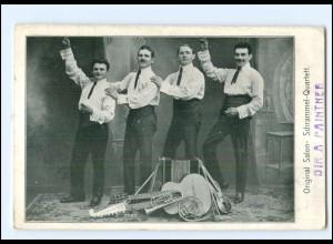 V1932/ Original Salon- Schrammel Quartett AK 1909