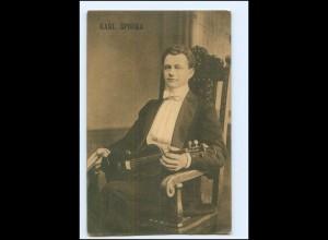 V1933/ Karl Sporka Geige Violine AK 1912