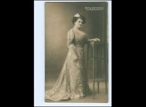 Y20061/ Gerty Gottschany Vortragskünstlerin Foto AK ca.1910
