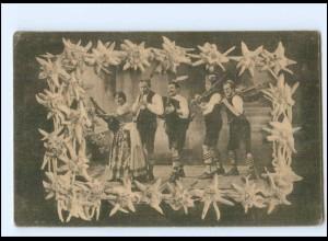 V1936/ Oberbayr. Schrammel-Musik und Gesang-Kapelle AK ca.1920