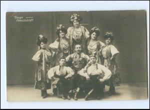 V1944/ Troupe Alexandroff Variete Foto AK ca.1912