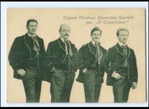 V1946/ Original Münchener Schrammel Quartett D` Tegernseer ca.1920