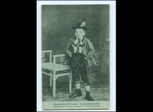 Y20074/ Heinrich, kleinster Salonhumorist D`Herbstzeitlosen AK ca.1925