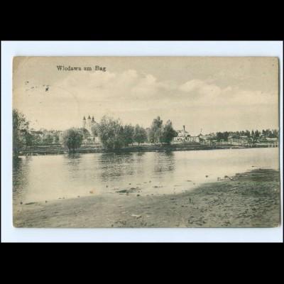 XX15143/ Wlodawa a. Bug Polen AK 1915