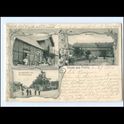XX15144-396/ Gruß aus Pollitz AK 1907