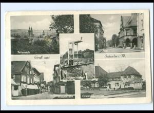XX15233-5830/ Schwelm Hauptstr., Post AK 1954
