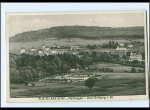 XX15253-3490/ Bad Driburg RAD Abt. 2/161 Nethegau AK ca.1935
