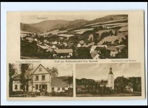 XX15162/ Rothwaltersdorf Krs, Neurode Schlesien AK 1937