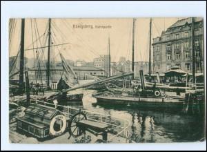 XX15170/ Königsberg Hafen AK 1915