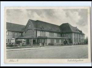 XX15203-4972/ Löhne Bahnhof AK 1938