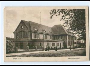 XX15205-4972/ Löhne Bahnhof AK 1919