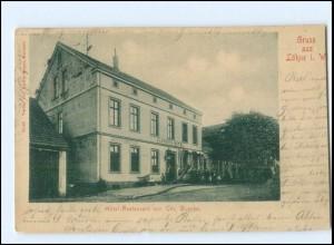 XX15167-4972/ Gruß aus Löhne AK Hotel Busche, 1903