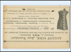 Y20635/ Wien August Sirk Jagd- und Touristen-Gamaschen AK ca.1912