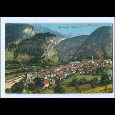 Y20474/ Albulabahn Thusis Schweiz AK 1910