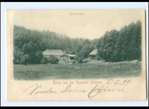 Y20293/ Ruppiner Schweiz Boltenmühle 1899 AK