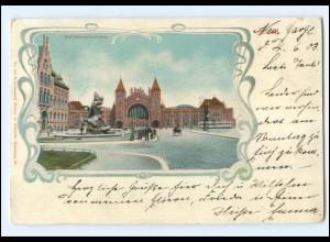 Y20281/ Hamburg Altona Stuhlmannbrunnen 1903 AK
