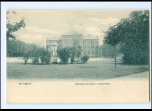 Y20283/ Hamburg Wandsbek Matthias-Claudius-Gymnasium ca.1900 AK