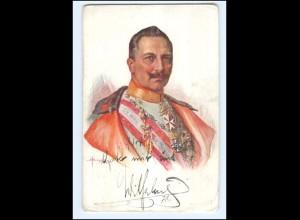 V2036/ Kaiser Wilhelm K.u.K. Kriegsfürsorgeamt AK Faksimile