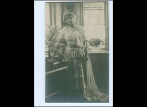 Y20219/ Wanda Schnitzing Opernsängerin Foto AK ca.1912