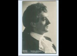 """Y20222/ Georg Grosch aus """"Mignon"""" Opernsänger AK Foto Hahn Nachfl. Dresden 1908"""