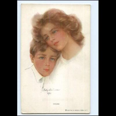 Y20469/ Philip Boileau Mutter und Kind, Reinthal & Newman AK ca.1910