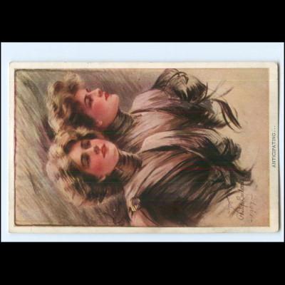 Y20477/ Philip Boileau Frauen AK 1909 Reintal-Newman