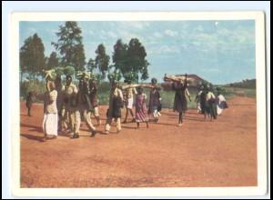 Y20476/ Bethel-Misson - Haya auf dem Weg zum Markte, Ostafrika AK