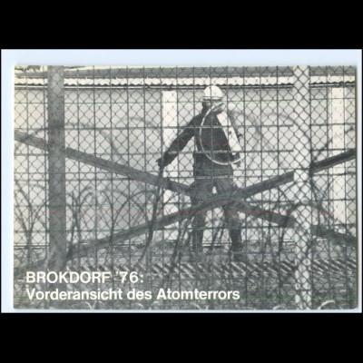 Y20480/ Brokdorf 1976 Anti-Atomkraftwerk Demonstrationen