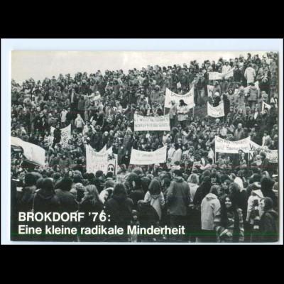 Y20479/ Brokdorf 1976 Anti-Atomkraftwerk Demonstrationen