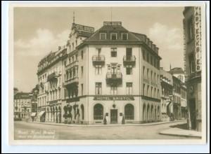 Y20485/ Basel Hotel Bristol Foto AK ca.1935