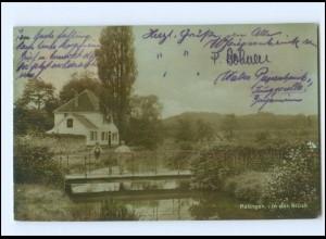 V2062-4030/ Ratingen In der Brück Foto AK 1926