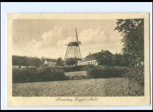 Y20757/ Sonderburg Düppel Mühle Windmühle Nordschleswig AK 1914