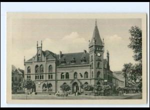 V2088-068/ Zahna Bez. Halle Rathaus AK 1954