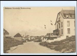 Y20745/ Badplaats Noordwijk Rembrandweg AK 1924 Niederlande