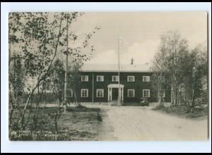 Y20648/ Ivalon Turiststation Finnland Foto AK ca.1938